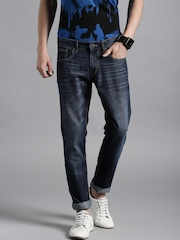 Kook N Keech Marvel Blue Tapered Fit Jeans