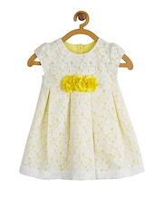 Toy Balloon kids Girls Yellow Lace A-Line Dress