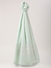 All About You from Deepika Padukone Mint Green Embroidered Dupatta