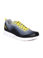 Reebok Men Grey & Black Duo Sports Shoes
