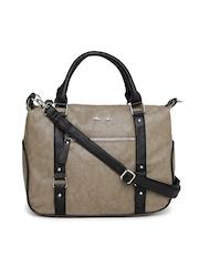 KIARA Brown Patterned Handbag
