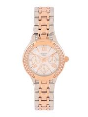CASIO Sheen Women Silver-Toned Embellished Dial Watch SX176