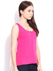 Hook & Eye Pink Top