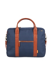 Atorse Unisex Blue Laptop Bag