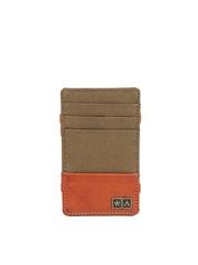 Atorse Unisex Olive Green Card Holder