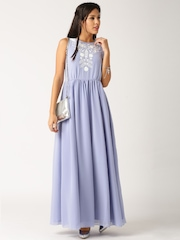 All About You from Deepika Padukone Lavender Georgette Maxi Dress