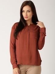 All About You from Deepika Padukone Brick Red Shirt
