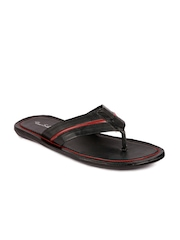 True Soles Men Black Sandals