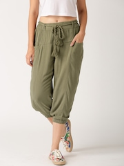 All About You from Deepika Padukone Olive Green Capris
