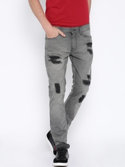 Locomotive Grey Slim Fit Jeans