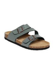Carlton London Men Grey Sandals