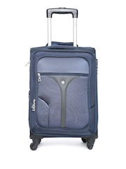 VIP Unisex Navy Small Cabin Trolley Bag