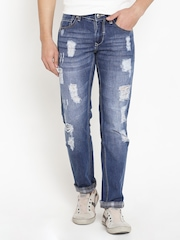 American Swan Navy Washed Smart Fit Jeans