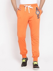 American Swan Orange Track Pants
