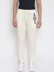 American Swan Off-White Track Pants