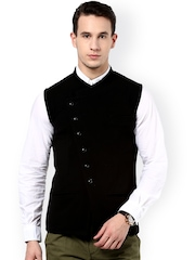 Hypernation Black Waistcoat