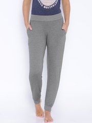 July Nightwear Grey Melange Lounge Pants TRP006
