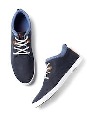 Mast & Harbour Men Navy Sneakers