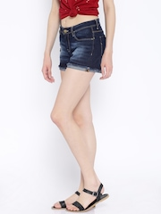 Ed Hardy Navy Denim Shorts