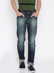 Roadster Men Blue Slim Fit Mid-Rise Jeans