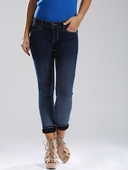 Levi's Blue Super Skinny Fit Jeans 710