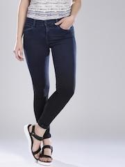 Levi's Navy Super Skinny Fit 710 Jeans
