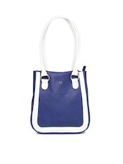 Hidesign Blue Pebble Ranch Shoulder Bag