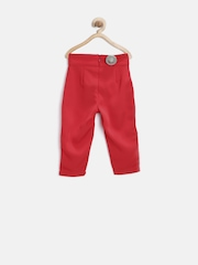 United Colors of Benetton Girls Red Trousers