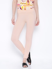 Chumbak Peach-Coloured Leggings