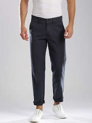 GANT Charcoal Grey New Haven Chino Trousers