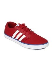 Adidas NEO Men Red VS Skateboarding Shoes