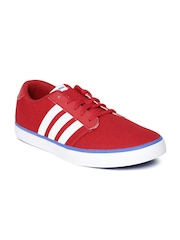 Adidas NEO Men Red VS Skateboarding Shoes