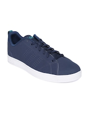 Adidas NEO Men Navy ADVANTAGE CLEAN VS Casual Shoes