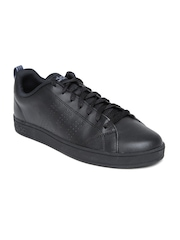 Adidas NEO Men Black ADVANTAGE CLEAN Casual Shoes