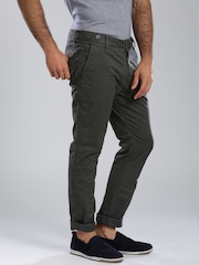 Breakbounce Grey Street Snug Chino Trousers