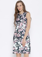 Vero Moda Multicoloured Floral Print Tailored Dress