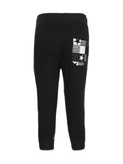 Cayman Boys Black Printed Pyjamas KCS005