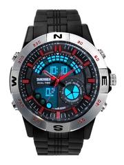 Skmei Unisex Black Analogue & Digital Watch SK100072