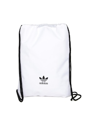 Adidas Originals Men White Gym Sack