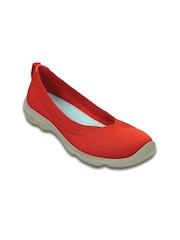 Crocs Women Red Flat Shoes