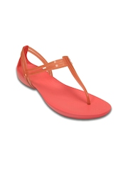 Crocs Women Peach-Coloured Flats