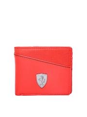 Puma Men Red Ferrari Wallet
