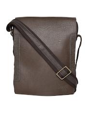 Baggit Men Brown Messenger Bag