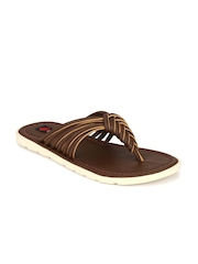 FOOTLODGE Men Brown Sandals