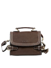 Remanika Coffee Brown Satchel