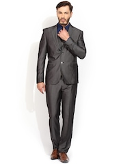 Blackberrys Charcoal Grey Single-Breasted Suit