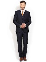 Blackberrys Navy Single-Breasted Suit