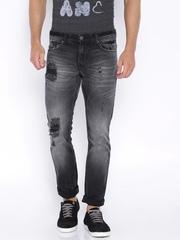 Locomotive Black Washed Jeans