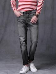 WROGN Grey Slim Fit Jeans