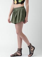 FOREVER 21 Olive Green Shorts